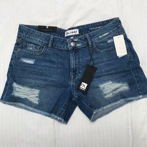 NWT DL1961 Karlie denim shorts